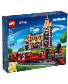Детский конструктор LEGO Дисней поезд и вокзал (71044)