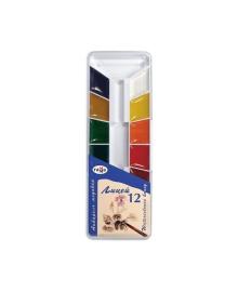 Краски акварельные Гамма Лицей, 12 цветов 110160