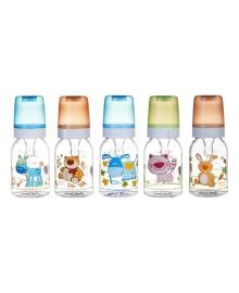 Тритановая бутылочка Canpol babies Веселые зверята, 120 мл (в ассорт)