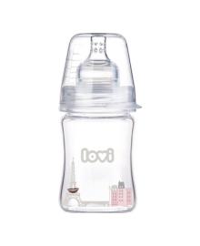 Бутылочка стеклянная Canpol babies Lovi Diamond Glass Retro girl, 150 мл 74/102