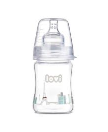 Бутылочка стеклянная Canpol babies Lovi Diamond Glass Retro boy, 150 мл 74/103