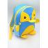 Рюкзак Пингвин MAXLAND 30x24x10 см 7 л (MK 1308) Синий