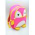 Рюкзак Пингвин MAXLAND 30x24x10 см 7 л (MK 1308) Розовый