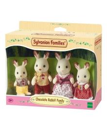 Набор Sylvanian Families Семейство Шоколадных кроликов 4150, 5054131041505