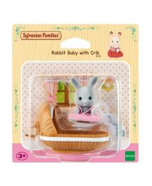 Набор Sylvanian Families Крольчонок в детской кроватке 4558