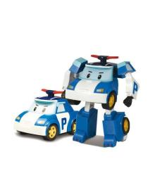 Полицейская машинка Поли трансформер Robocar Poli, 10 см