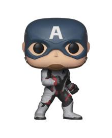 Фигурка Funko Pop Мстители Финал Капитан Америка в белом костюме 9.6 см