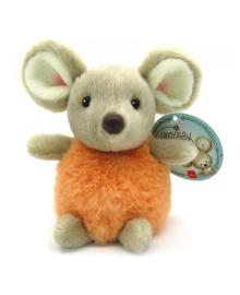 Мягкая игрушка Aurora Мышонок-девочка Пом-Пом 15 см 190055B