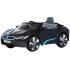 Электромобиль Rollplay BMW i8 Spyder 12V RC, на радиоуправлении, черный (32242)