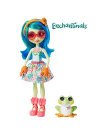 Кукла Enchantimals Жабка Тамика