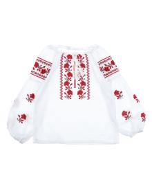 Вышиванка ФОП Комар Red Flowers, р. 110 ФОП Комар Т.Ю 9948
