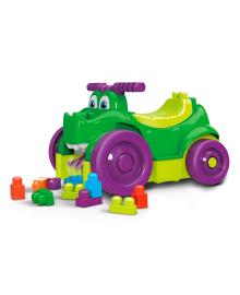 Машинка-крокодил Mega Bloks с конструктором 25 эл