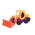 Іграшка для гри з піском - МІНІ-екскаватор (колір манго-сливово-томатний)