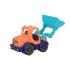 Іграшка для гри з піском - МІНІ-екскаватор (колір морської-мандариновий-океан)