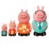 Детский набор игрушек-брызгалок Peppa Семья пеппы (4 фигурки) (25068)