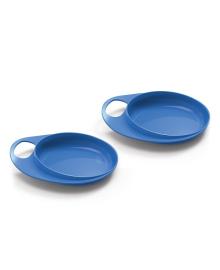 Набор мелких тарелок Nuvita Easy Eating Blue 2шт NV8451Blue