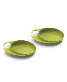 Набор мелких тарелок Nuvita Easy Eating Lime 2шт NV8451Lime
