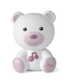 Ночник Chicco Медвежонок Dreamlight розовый