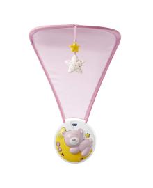 Мобиль Chicco Next2Moon розовый