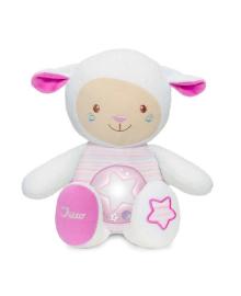 Музыкальная игрушка Chicco Овечка розовая 09090.10.36, 8058664108367