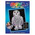 Набір для творчості Sequin Art Blue Снігова Сова SA1604