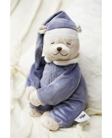 Игрушка для сна Doodoo toys Мишка Скай с ночником, Синий (5425034060106)