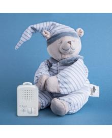 Игрушка для сна Мишка Вильям, голубой, 23 см