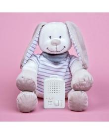 Игрушка для сна Зайчик Томас DooDoo toys, Серый, (5425034060083)