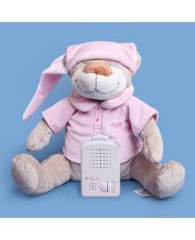 Игрушка для сна Мишка Матис DooDoo toys, Розовый, (5400718000753)