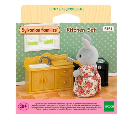 Игровой набор Sylvanian Families Кухня 5151, 5054131051511