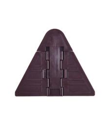 Защита на шкаф купе Z1916 Стандартный Коричневый Lapchu