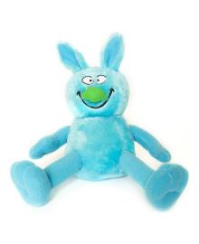 Мягкая игрушка Hamleys Ziggles Кролик голубой, 20 см 861351, 5015353861357