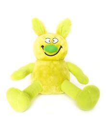 Мягкая игрушка Hamleys Ziggles Кролик зеленый, 20 см 861369, 5015353861364