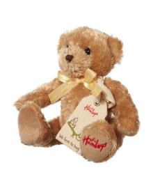 Мягкая игрушка Hamleys Медведь Вафель, 14 см