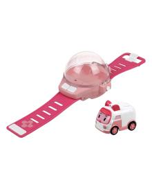 Часы с мини-машинкой Robocar Poli Эмбер