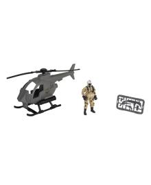 Игровой набор Chap mei Patrol Helicopter Cолдаты