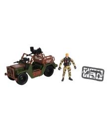 Игровой набор Chap mei Patrol Jeep Cолдаты