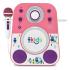 Акустическая система с микрофоном Singing Machine Sing-Along Bluetooth Pink SMK250PP