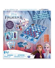 Набор из 6 настольных игр Spin Master Холодное сердце 2