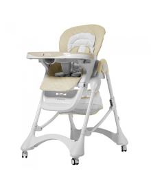 Детский стульчик для кормления Carrello Caramel (Каррелло Карамель) CRL-9501/3 Cream Beige (6900095000272) Цвет Бежевый