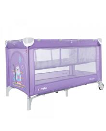 Детский манеж Carrello Piccolo+ (Каррелло Пикколо+) CRL-9201/2 Orchid Purple, с двумя уровнями дна (6900092000664) Цвет Фиолетовый