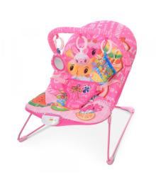 Детский шезлонг 303-8 розовый