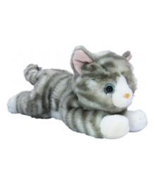 Мягкая игрушка Aurora Котенок серый, 25 см