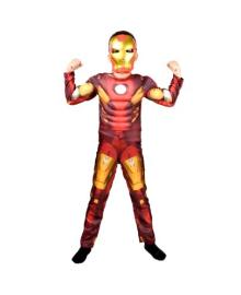 Костюм Железного человека с мускулами 10-12 лет 201119-014
