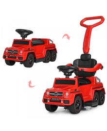 Детский электромобиль-толокар BAMBI M 3853 EL-3, Mercedes, мягкое сиденье