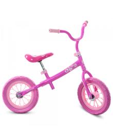 Детский беговел M 3255-1, 12 дюймов, розовый