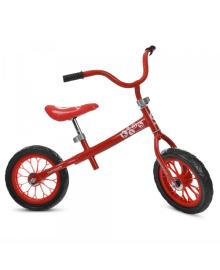 Детский беговел M 3255-3, мягкие EVA колеса, красный