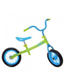 Детский беговел M 3255-4, мягкие EVA колеса, салатово-голубой