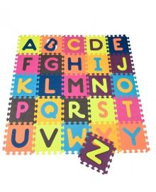 Детский развивающий коврик-пазл - ABC (BX1210Z) BATTAT KIDDI-BX1210Z