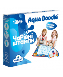 Набор для творчества Aqua Doodle Волшебные водные штампы (укр)